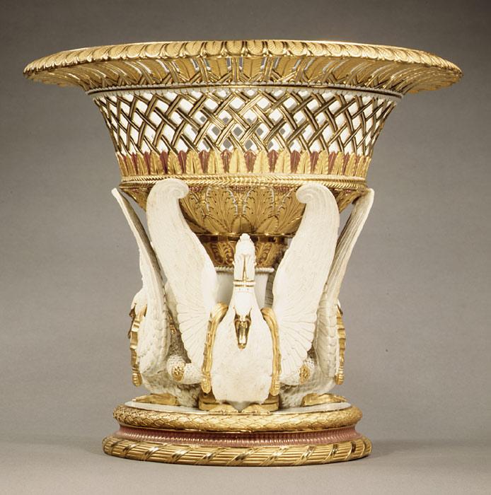 Fruit or flower basket. 1823.