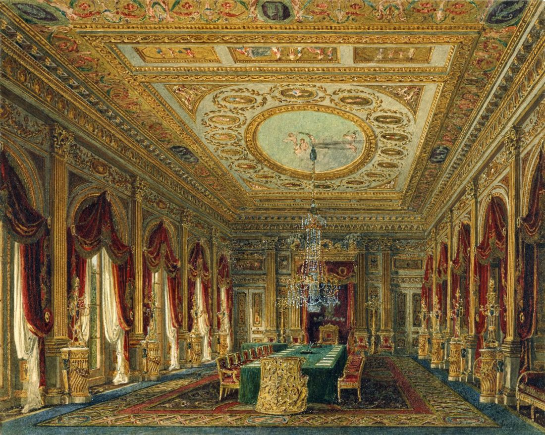 Carlton_House,_Throne_Room,_by_Charles_Wild,_1818_-_royal_coll_922178_257094_ORI_0_0