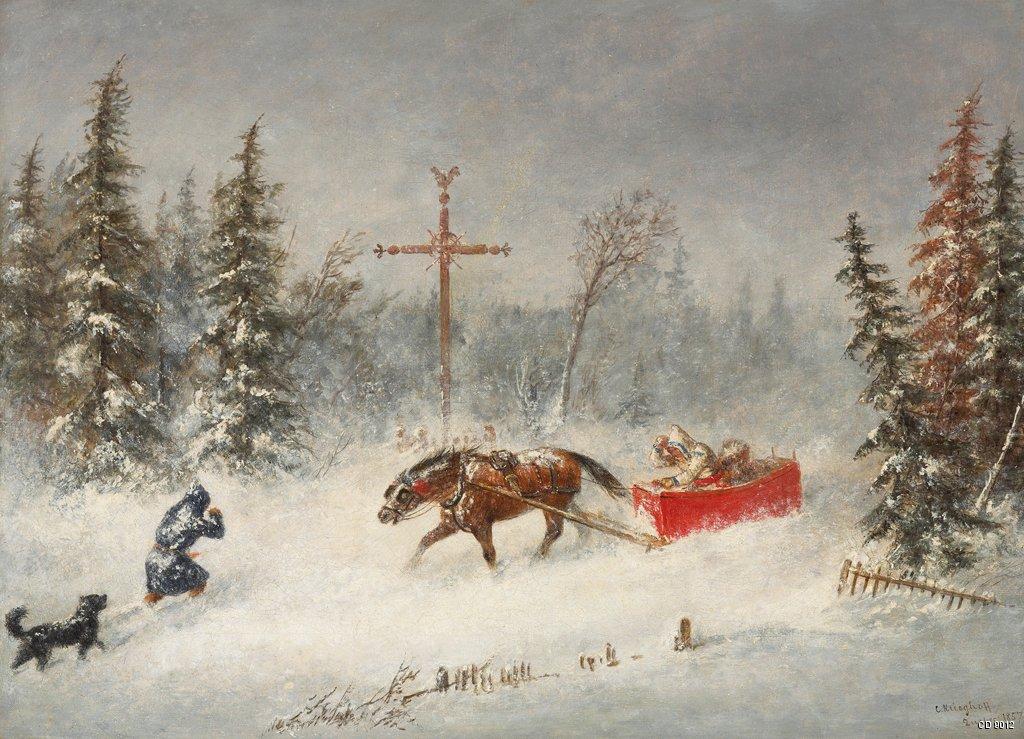 """The Blizzard."" 1857."