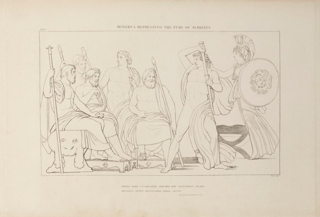 """""""Minerva Repressing the Fury of Achilles:"""