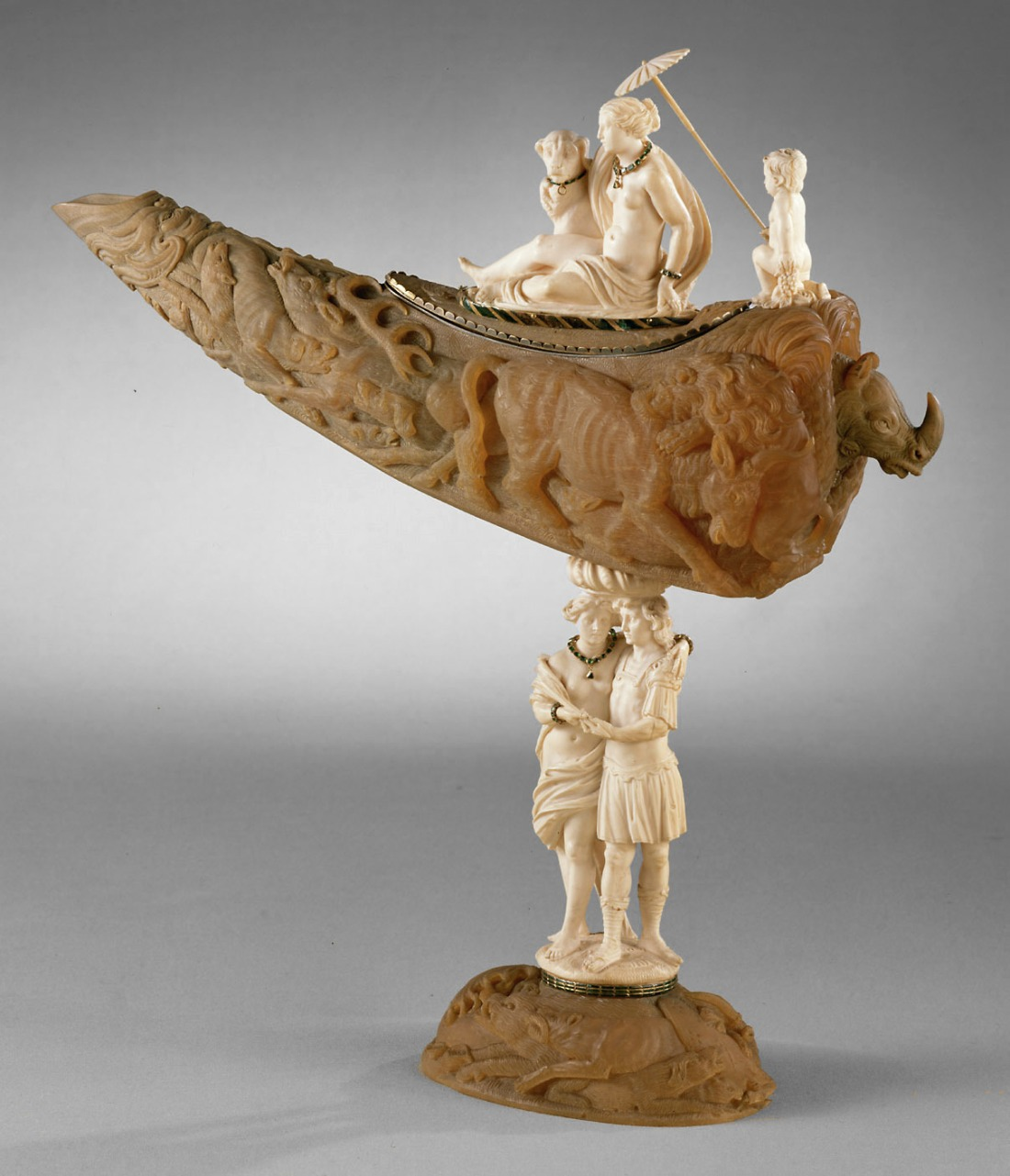 Ceremonial vessel. 1750-1775.