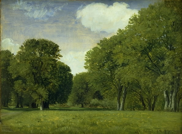 """The Deer Park."" 1847."
