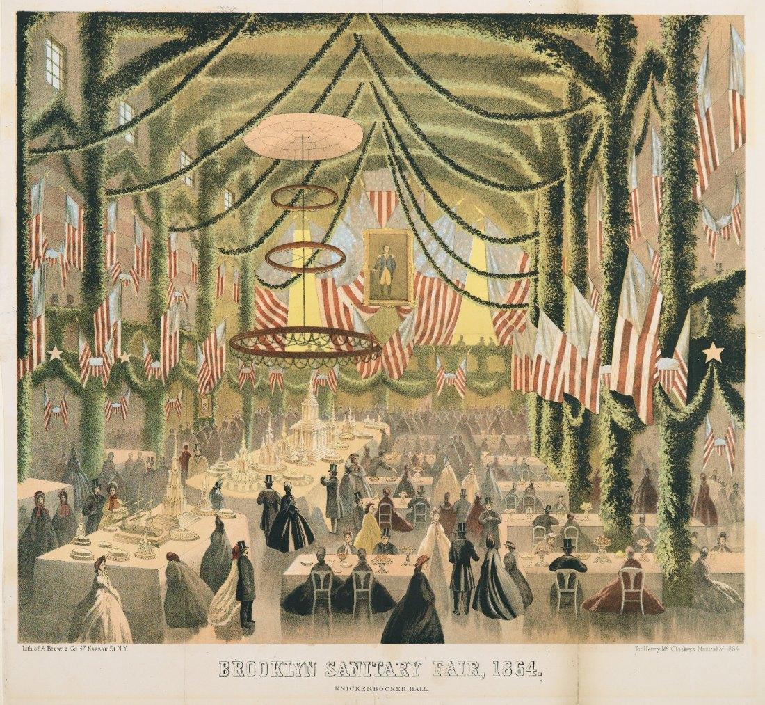 Brooklyn Sanitary Fair, 1864.