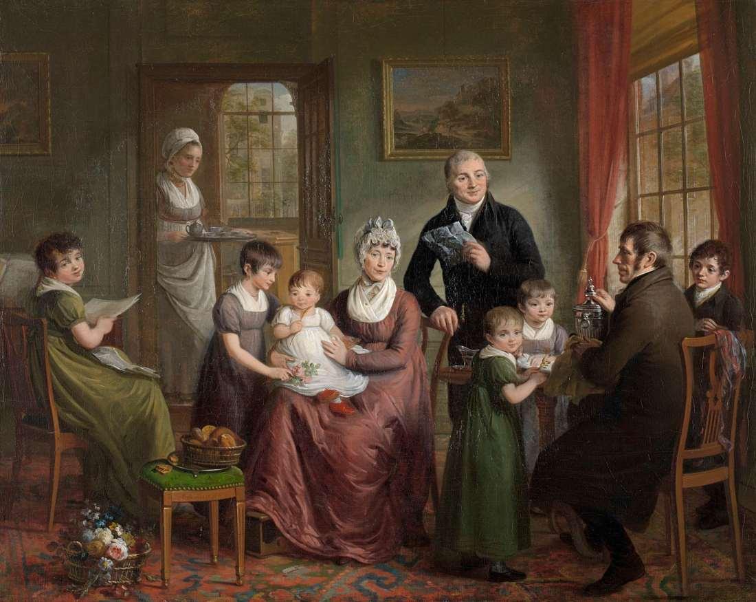 Adriaan_de_Lelie_-_Portret_van_de_familie_van_Adriaan_Bonebakker_met_Dirk_L._Bennewitz_-_SK-A-5013_-_Rijksmuseum