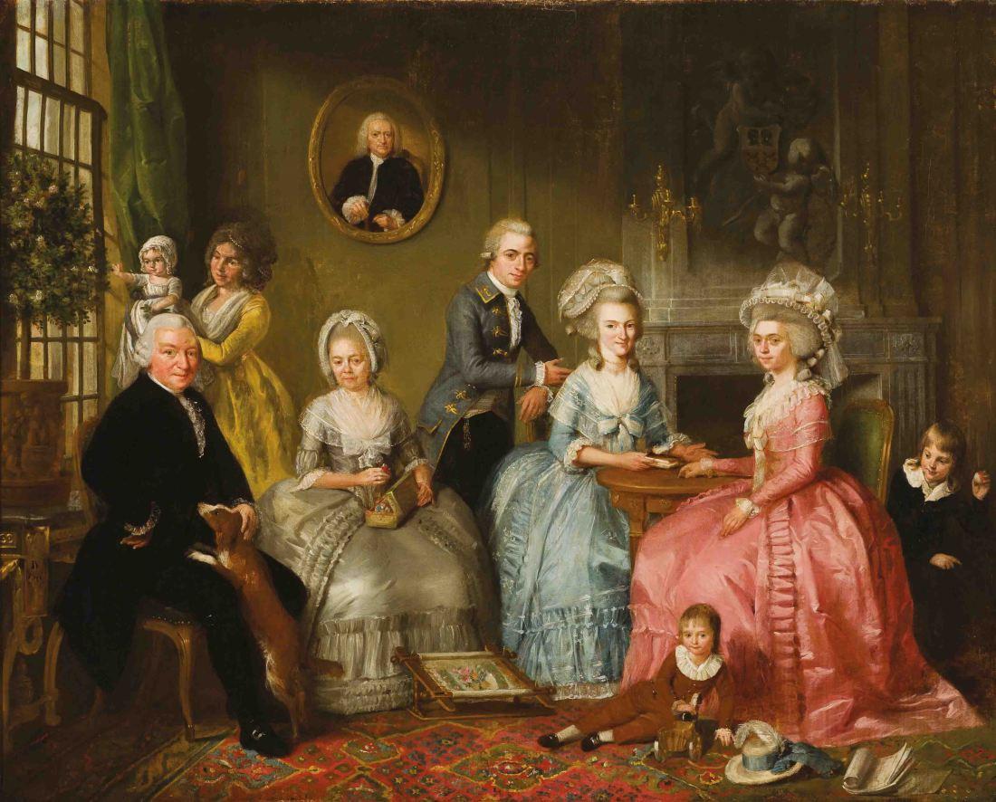 Adriaan_de_Lelie,_De_familie_van_Jan_van_Loon,_1786