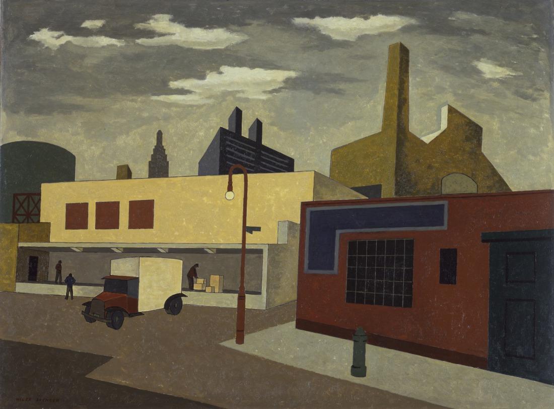 """Near Avenue A."" 1933."