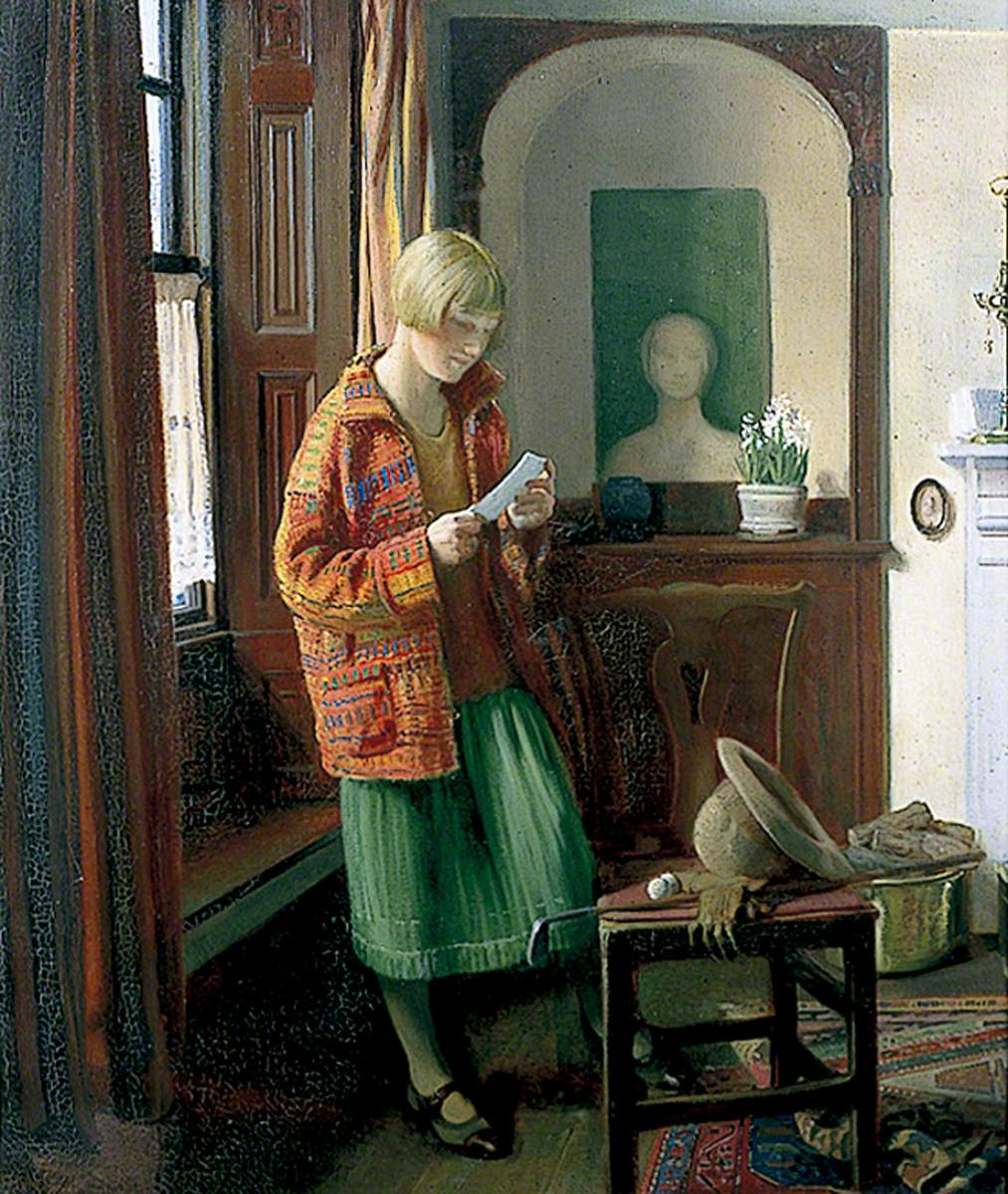 Ginnett, Louis, 1875-1946; The Coat of Many Colours