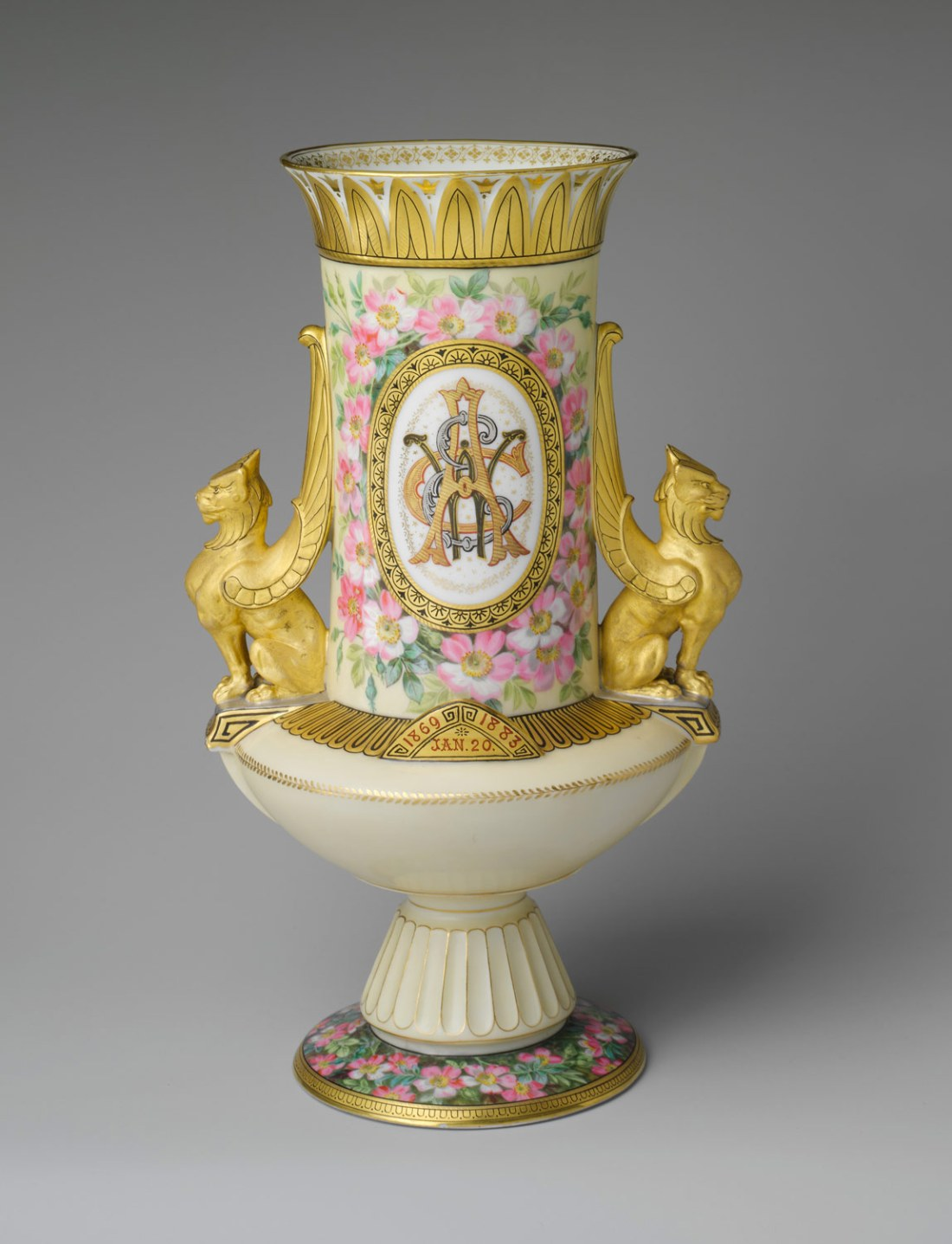 Vase. ca. 1883.
