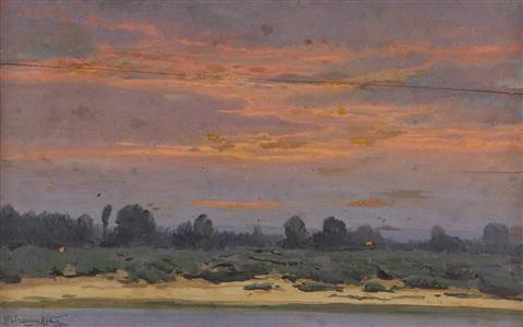 konstantin-yakovlevich-kryzhitsky-sunset