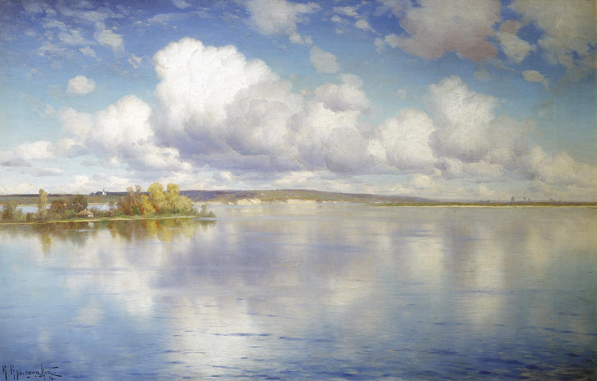 Konstantin_Kryzhitsky_Ozero_1896