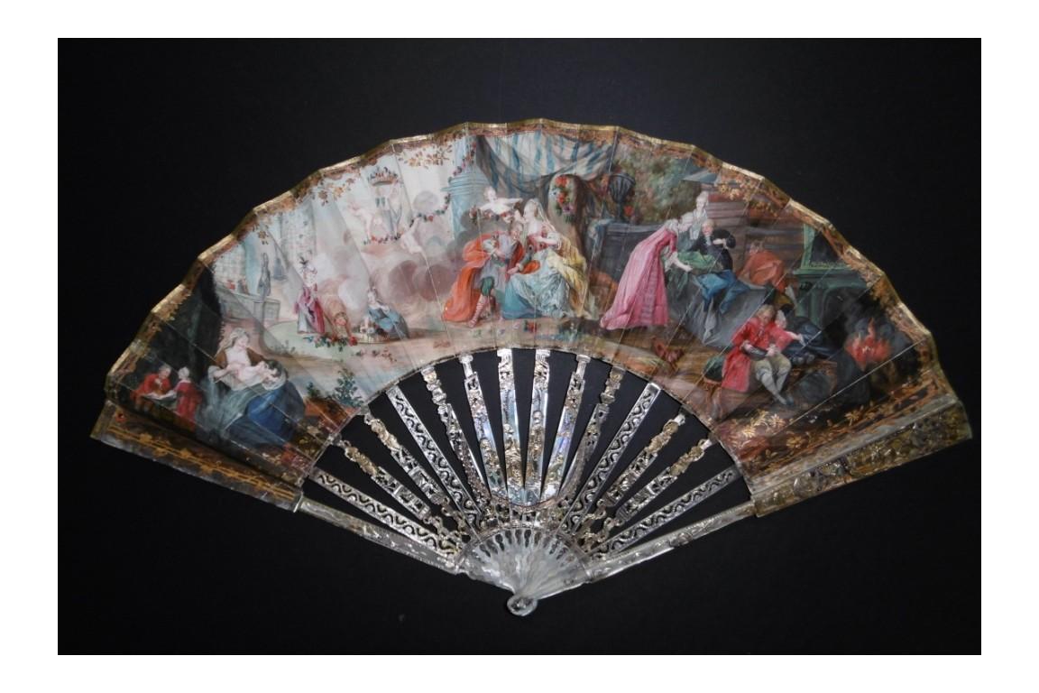 les-ages-de-la-vie-eventail-vers-1770