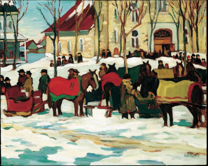 """""""Grand Mass, Berthier-en-Haut."""" 1927."""