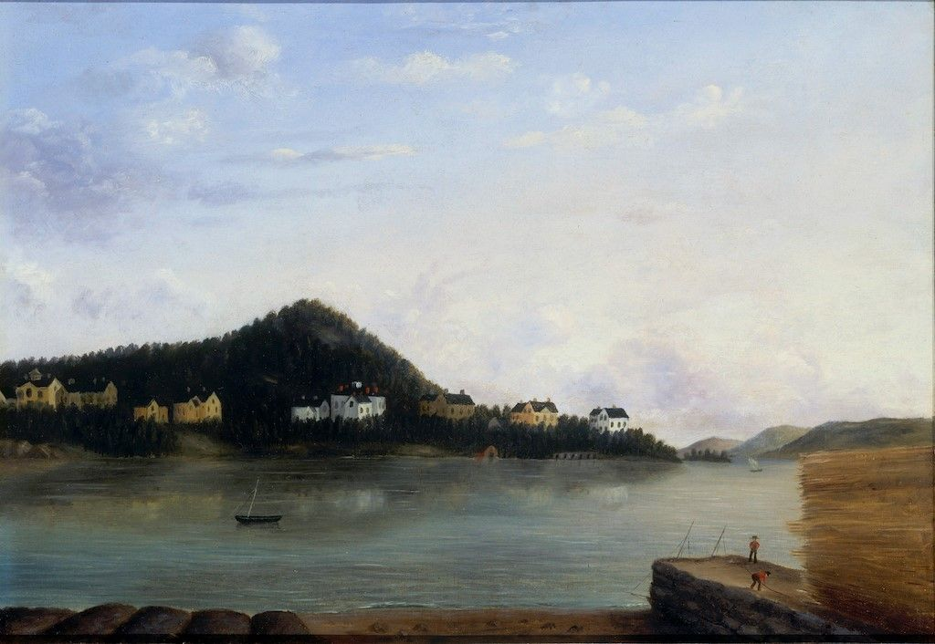 Dorchester-1856-Edward-Mitchell-Bannister-Oil-Painting
