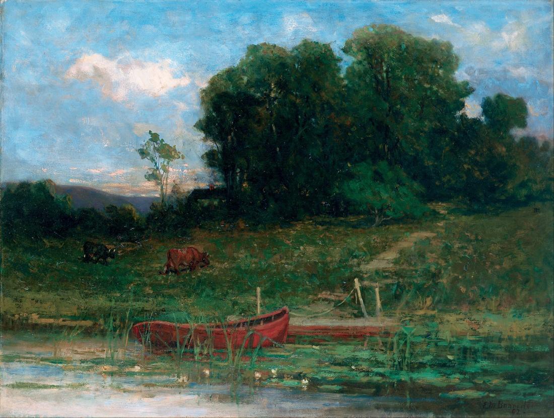 Edward_Mitchell_Bannister_-_The_Farm_Landing_-_Google_Art_Project