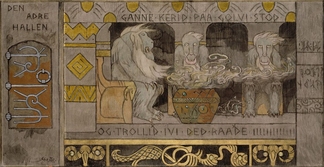 Gerhard_Munthe_-_The_second_Hall_-_Google_Art_Project