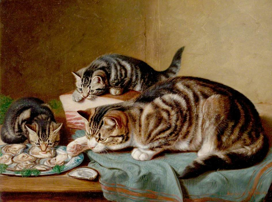 An_Oyster_Supper_by_Horatio_Henry_Couldery