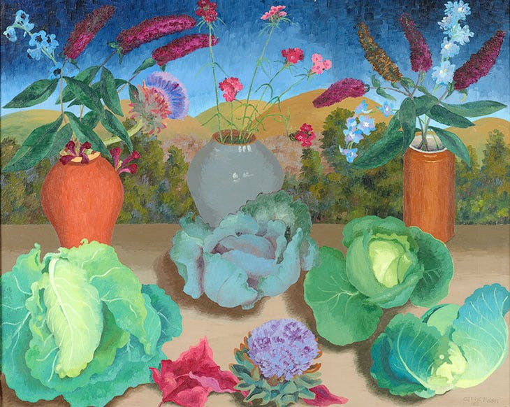 CROPCabbages-1953-Cedric-Morris.-Oil-on-Canvas.-Private-Collection