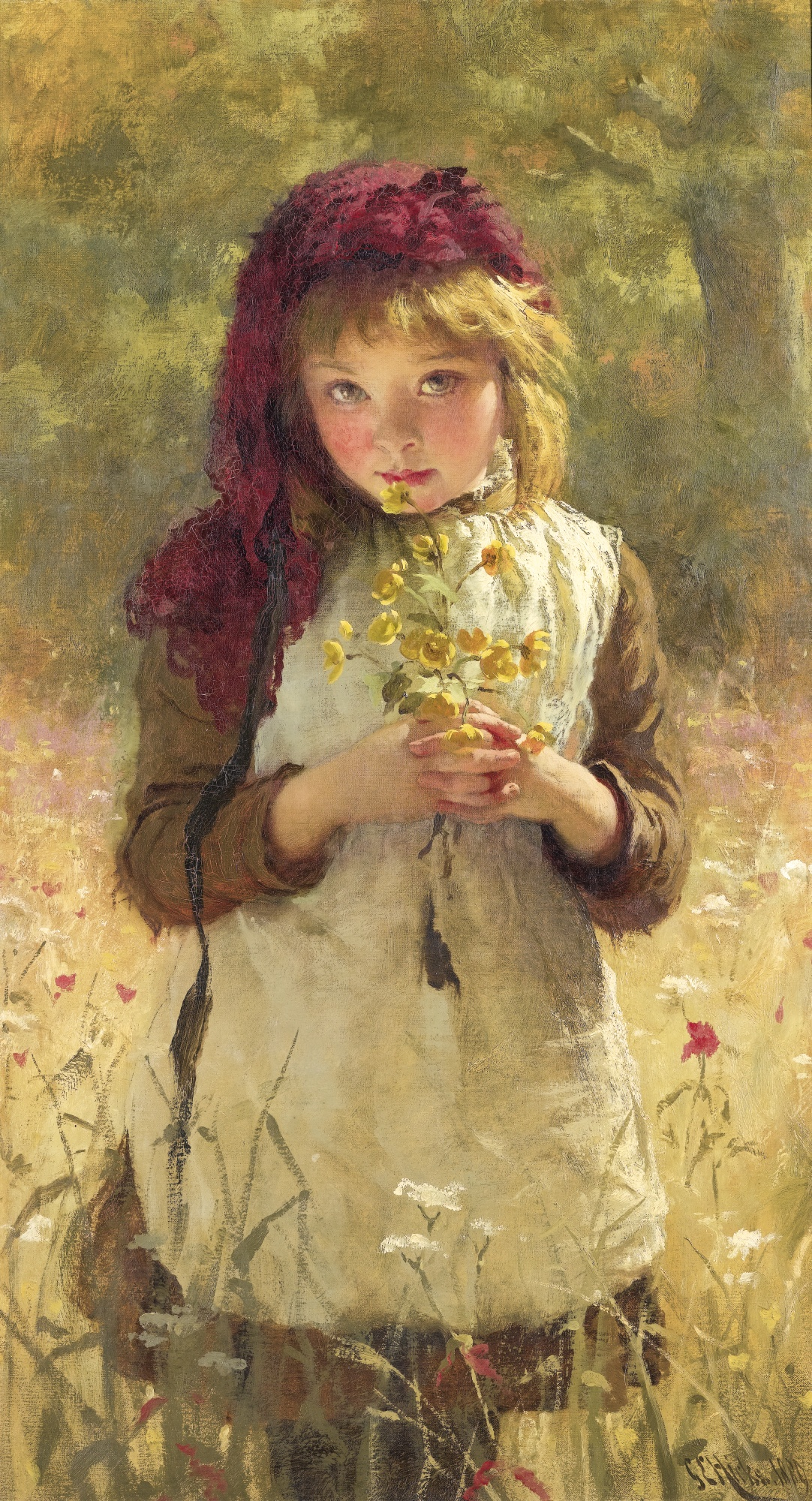 George_Elgar_Hicks_-_Buttercups