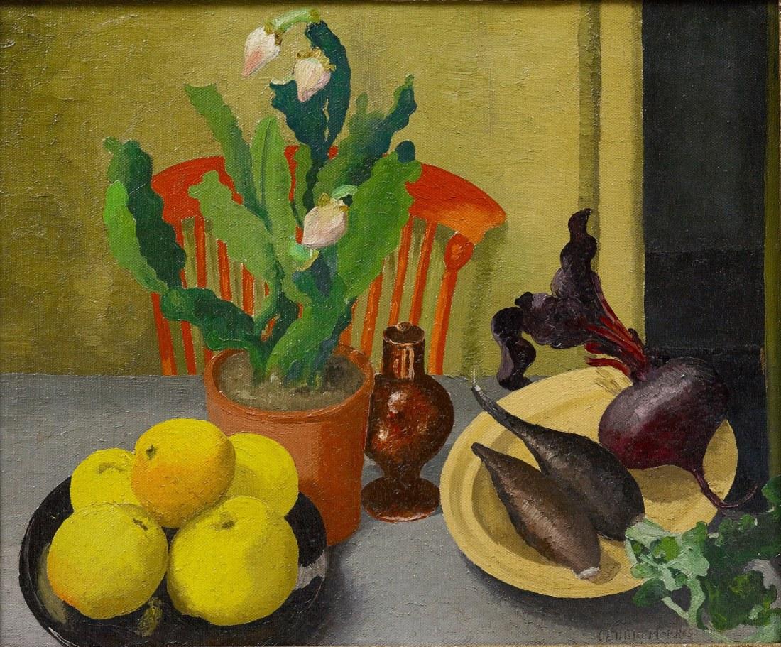 The-Orange-Chair-1944-Sir-Cedric-Morris-©-Philip-Mould-Company-Cedric-Morris-Estate-no-frame