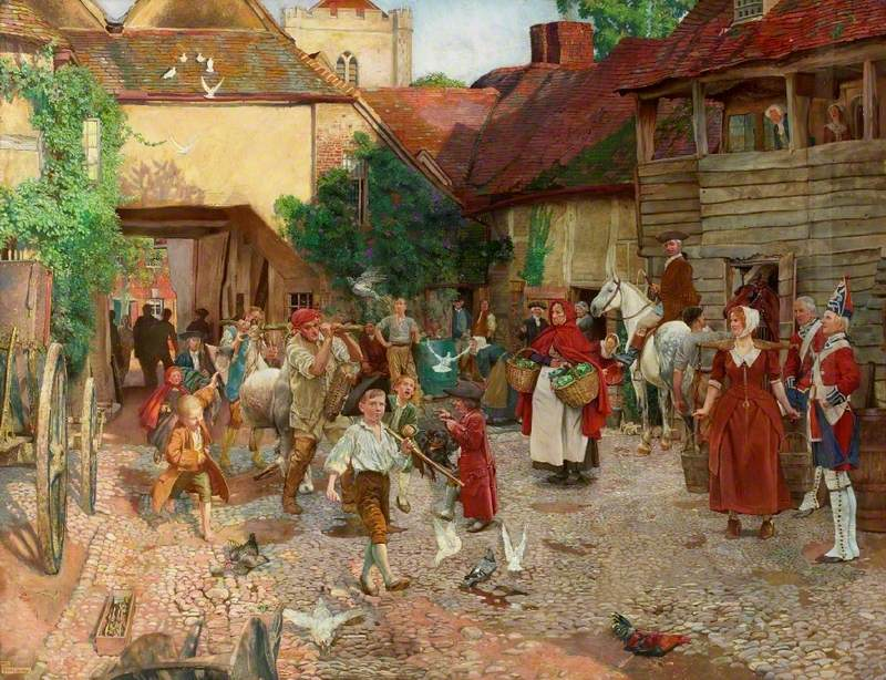 Shaw, John Byam Liston, 1872-1919; The Fool Who Would Please Every Man