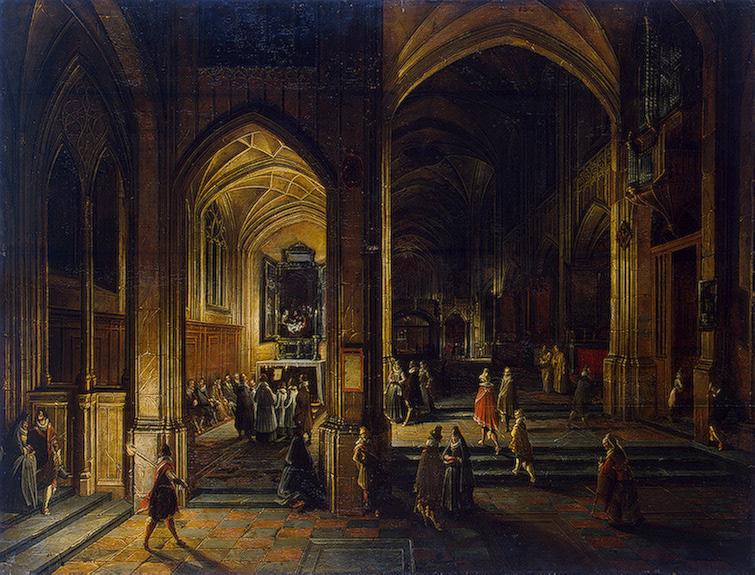 Hendrik_van_Steenwijk_II_Interior_of_a_Gothic_Church
