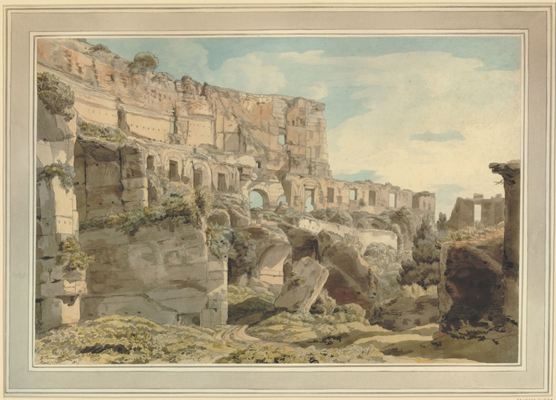 francis-towne-1739-1816-inside-the-colosseum-1780