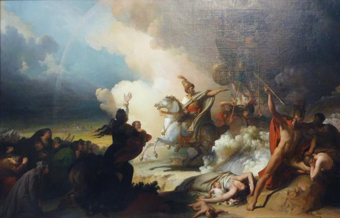 234_Alexandre-Evariste_Fragonard_Saladin_à_Jérusalem