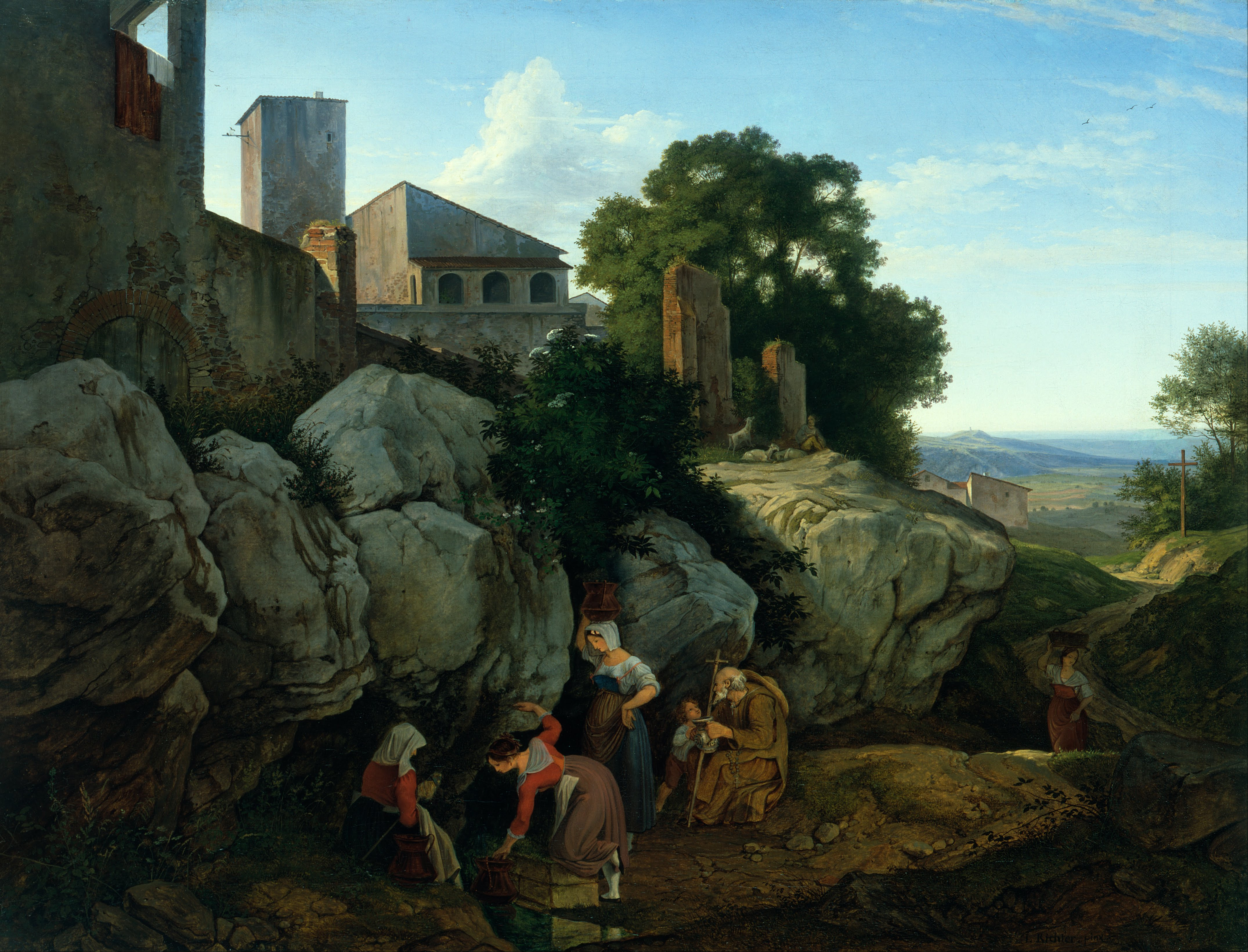 Ludwig_Richter_-_Ariccia_(Morning)_-_Google_Art_Project