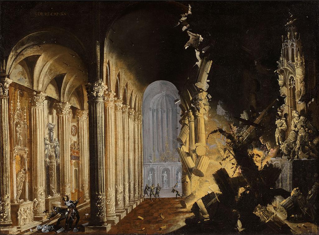 Nomé,_François_(Desiderio._Monsù)_-_Explosão_de_una_Catedral